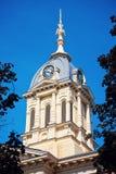 老法院大楼在华沙 免版税图库摄影