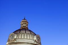 老法院大楼在林肯,洛根县 库存图片