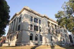 老法院大楼在Pekin,塔兹韦尔县 免版税库存照片