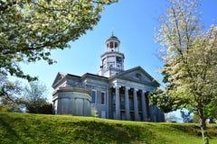 老法院大楼在Vicksburg,密西西比 库存照片