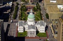 老法院大楼,圣路易斯, MO 免版税库存图片