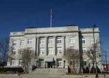 老法院大楼 免版税库存照片