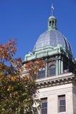 老法院大楼manitowoc 免版税库存照片