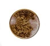 老波兰硬币 库存照片