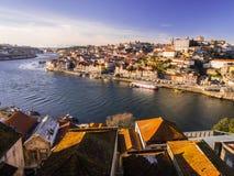 老波尔图葡萄牙城镇 库存照片