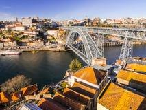 老波尔图葡萄牙城镇 免版税库存照片