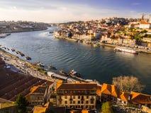 老波尔图葡萄牙城镇 免版税库存图片