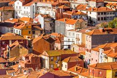 老波尔图,葡萄牙 免版税库存照片