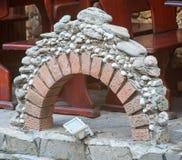 老波摩莱,保加利亚的街道建筑学 免版税库存照片