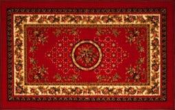 老波斯地毯 库存图片