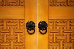 从老波斯尼亚的门的细节 图库摄影
