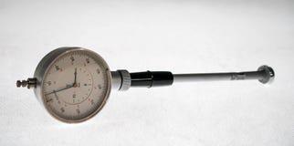 老测量仪器 免版税库存照片