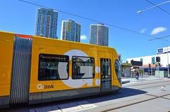 老海岸光路轨G -昆士兰澳大利亚 免版税库存图片
