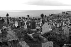 老海边公墓 库存照片