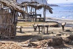 老海滩 库存照片