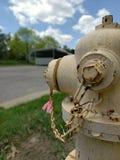 老消防栓 免版税库存图片