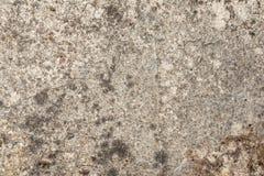 老混凝土墙的纹理有一损坏的表面和小镇压的 免版税库存照片