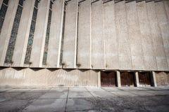 老混凝土墙 免版税库存图片