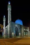 老清真寺在圣彼德堡 免版税库存图片