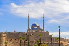 老清真寺在城堡,开罗,埃及 免版税库存图片