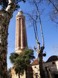 老清真寺在安塔利亚 库存图片