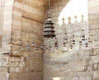 老清真寺在开罗在埃及在非洲 库存图片