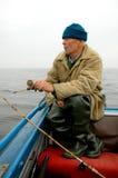 老渔夫 免版税库存图片