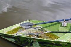 老渔船 免版税库存图片