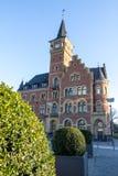 老港口办公室科隆香水rheinauhafen 免版税库存照片