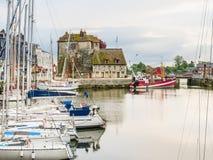 老港口 05法国honfleur诺曼底 图库摄影