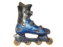 老溜冰鞋 图库摄影
