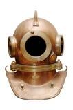 老潜水盔甲 库存照片