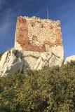 老火炮塔在Mikulov 免版税库存照片