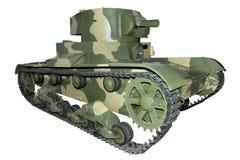 老火焰喷射器坦克 免版税图库摄影