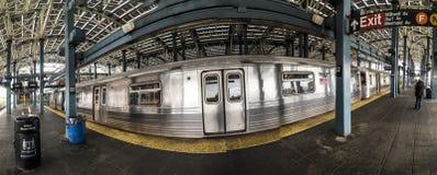 老火车站在兔子岛 免版税库存照片