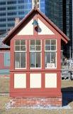 老火车站大厦 图库摄影