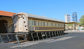 老火车站,特拉维夫 免版税库存照片