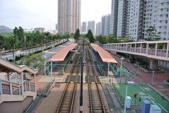 老火车站 库存图片