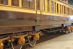老火车 免版税图库摄影