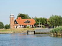 老灯塔,立陶宛 图库摄影