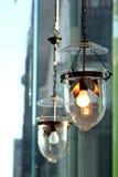 老灯笼艺术设计。 库存图片