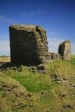 老灯芯, Caithness,苏格兰,英国城堡  图库摄影