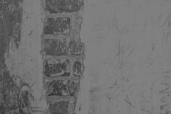 老灰色墙壁的特写镜头图象 免版税库存图片