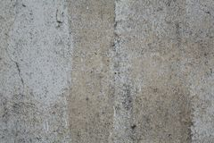 老灰色概略的混凝土墙纹理 库存图片