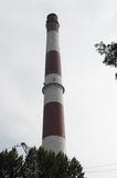 老烟囱西里西亚 库存照片