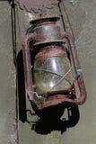 老煤油提灯 库存照片