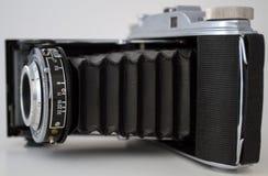 老照片照相机 免版税库存图片