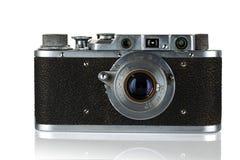 老照相机。 免版税库存照片