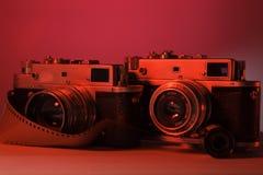 老照相机照片 免版税库存照片