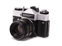 老照相机 免版税图库摄影